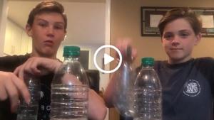bottle flip video